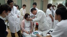 井原市民病院長もNPPV実習に参加されました。の写真
