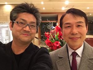 鈴木富雄先生とツーショット